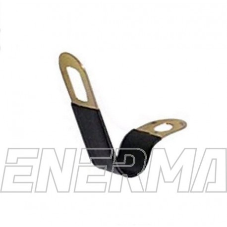 Clip with rubber insulation  10/12