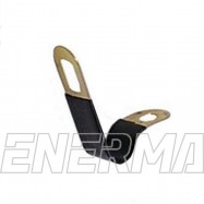 Clip with rubber insulation 6/8