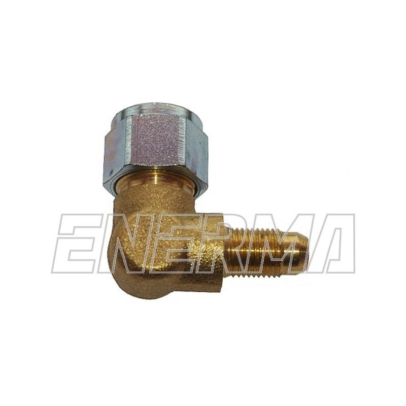 Złączka do rury PCV 90º  / 10x1 / 6mm