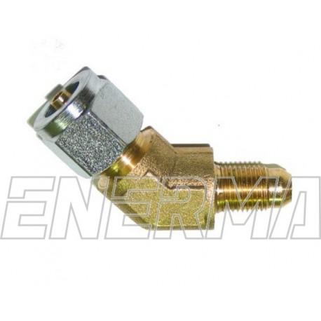 Złączka do rury PCV 135º  / 10x1 / 6mm