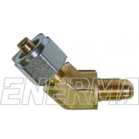 Złączka do rury PCV 135º  / 10x1 / 8mm