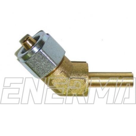Złączka kątowa do PCV 135º  8mm