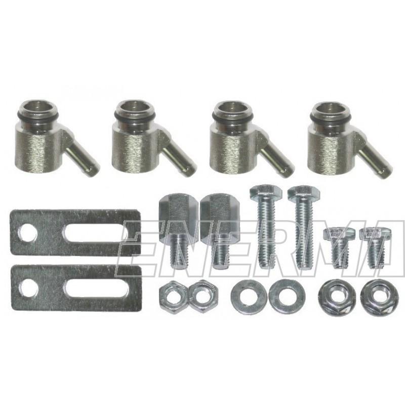Końcówki/adaptery wtryskiwacza Bosch 1 oring / komplet