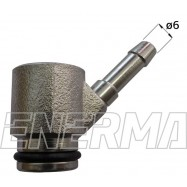 Końcówka/adapter wtryskiwacza Bosch Ø6  1oring