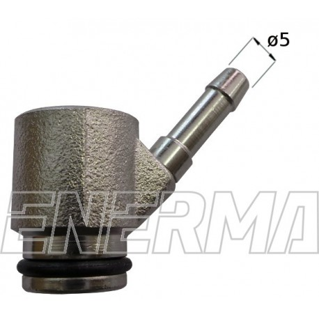 Bosch injector adapter Ø5 - 1oring