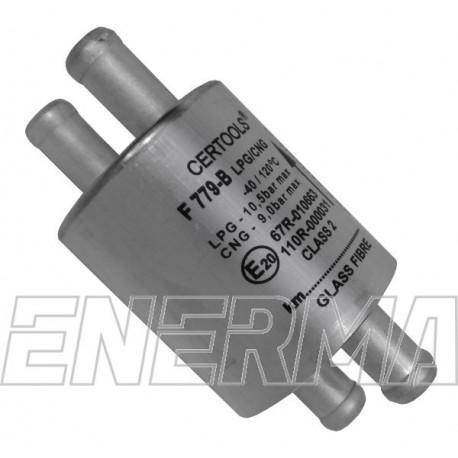 Filter F-779B Glass Fibre 2x12/2x12 volatile phase