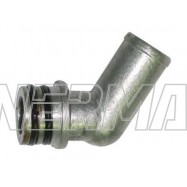 KME Silver/Gold -16mm Alu. Elbow for reducer