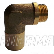 Reduction of the oxygen sensor 18x1.5/90  4mm