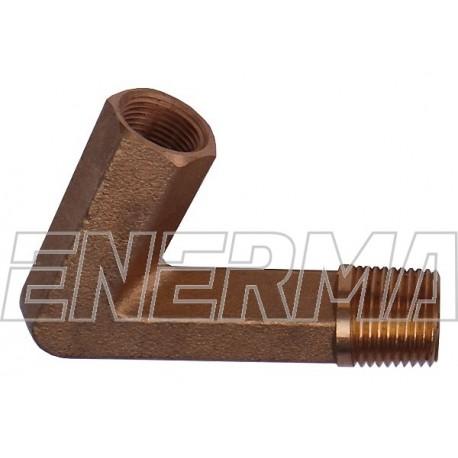 Kolanko  60 st.   3/8 M12x1  8mm