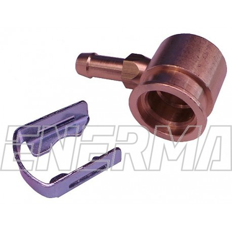 Adapter for injectror Hana/Barracuda - 90º / 6mm brass