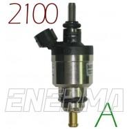 HANA 2100 A- ZIELONY - 1cyl. wtryskiwacz z króćcem
