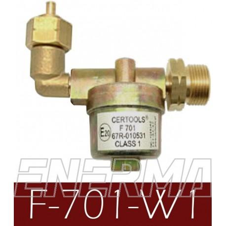 Filtr  F-701 W1  zespół filtra fazy ciekłej