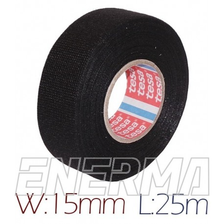 TESA 15mm/25m pet fleece bnr.51608