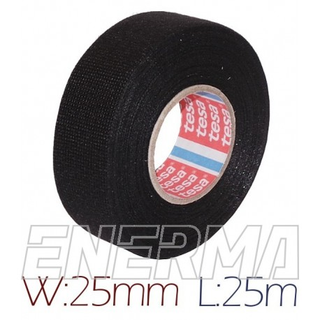 TESA 25mm/25m  pet fleece  bnr.51608