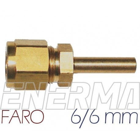 6/6mm  Złączka prosta Faro oryginał