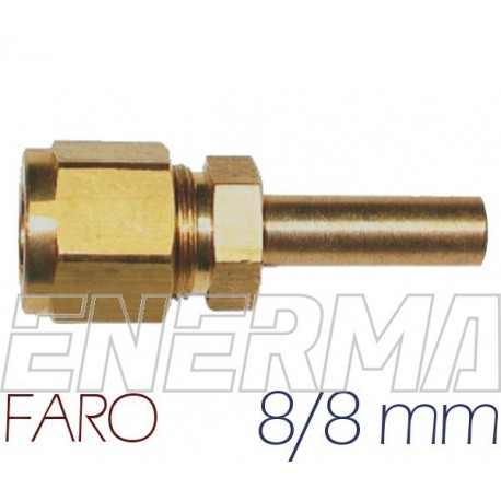 ø8mm straight fitting FARO