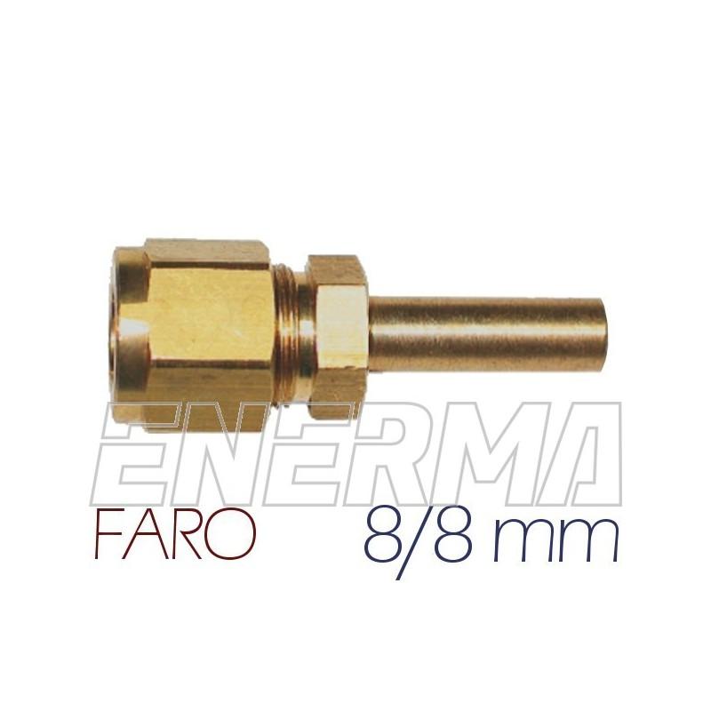 ø8mm straight fitting FARO