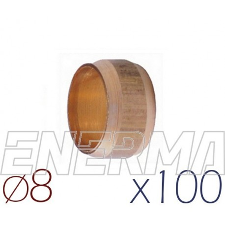Barrel sealing 8mm - 100pcs