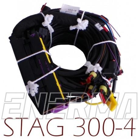 Okablowanie Stag 300 - 4cyl.