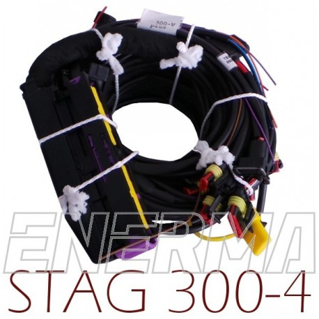 Wiring STAG 300 - 4cyl