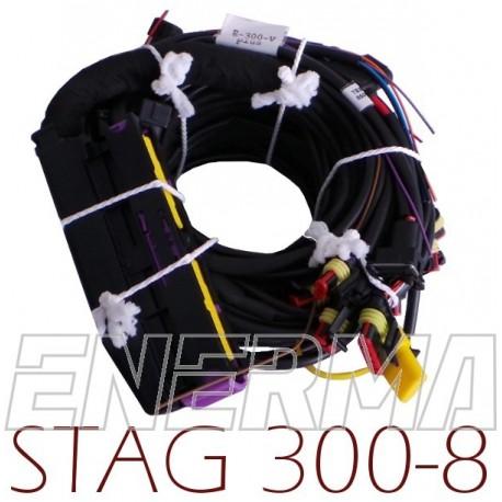 Okablowanie Stag 300 - 8cyl.