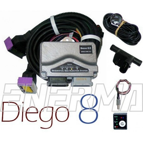 KME Diego G3 8cyl.  electronic set