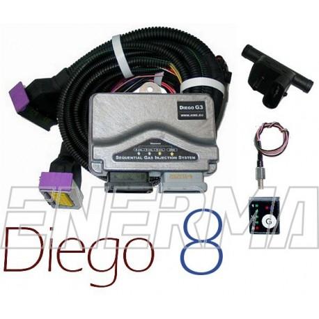 KME Diego G3 8cyl.  electronic set BW
