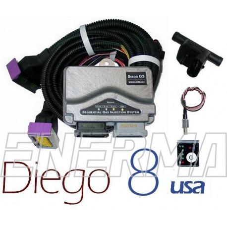 KME Diego G3 8cyl. USA   elektronika  BW