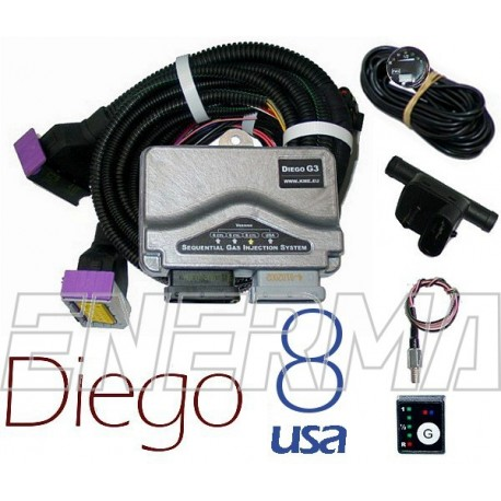 KME Diego G3 8cyl. USA electronic set