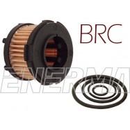 Filtr / wkład BRC 37/27 nowy typ - kpl z oringami