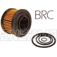 Filtr / wkład BRC 38/27/10 stary typ ET98 / kpl z oringami