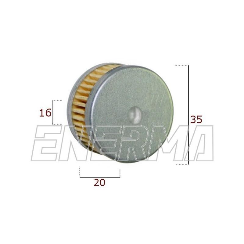 Filterek / wkład Tomasetto zintegrowany 35/20