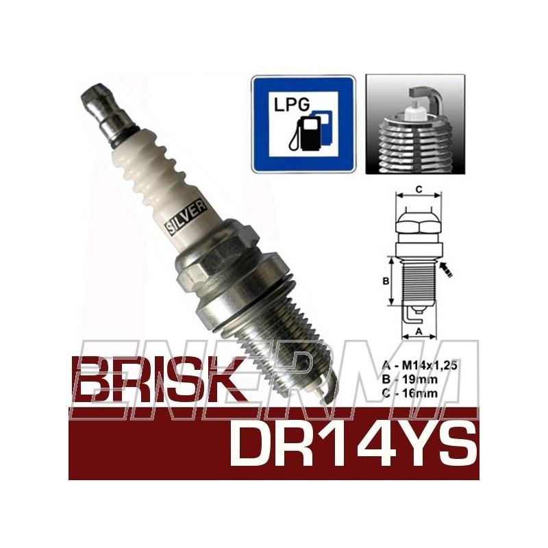 Brisk SILVER DR14YS  spark plug