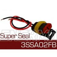 Wtyk żeński z wiązką  Super Seal 3SSA02FB