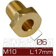 Barrel clamp Ø6  10x1/17