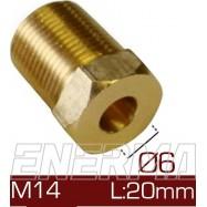 Barrel clamp Ø6  14x1/20
