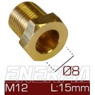 Barrel clamp Ø8  12x1/15