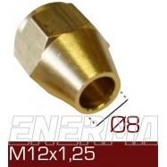 Barrel clamp Ø8  12x1.25