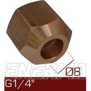Barrel nut Ø8  G1/4''