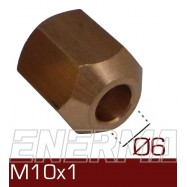 Nakrętka Ø6  M10x1