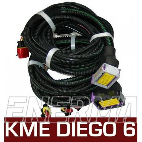 Okablowanie  KME Diego G3 6cyl.