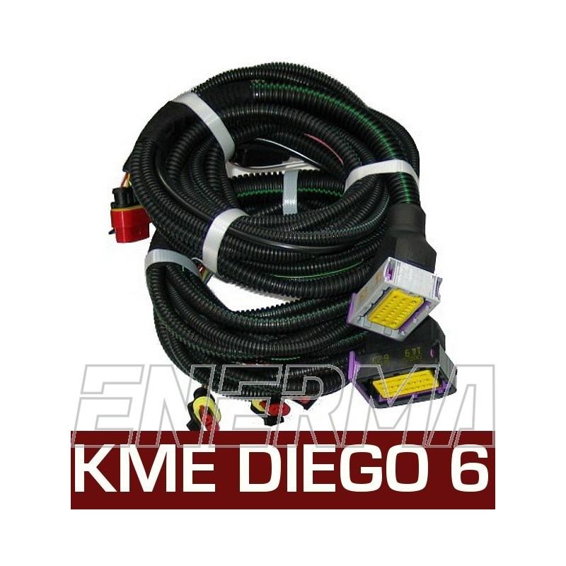 kme diego g3 6cyl wiring set enerma. Black Bedroom Furniture Sets. Home Design Ideas