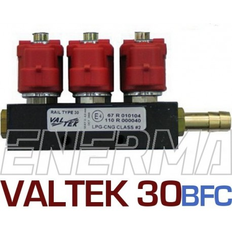 Valtek 3ohm injection rail  3cyl. BFC