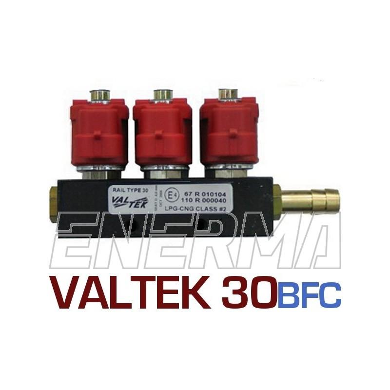 Listwa wtryskowa Valtek 3ohm. 3cyl. BFC