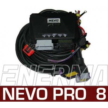 KME NEVO Pro  8cyl. controller + wiring