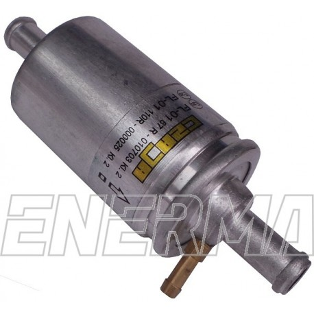 Filter FL01K 12/12 with a nozzle for measuring pressure
