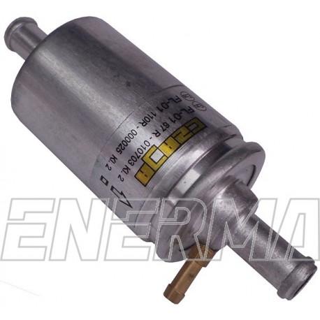 Filtr FL01 12/12 z króćcem do pomiaru ciśnienia