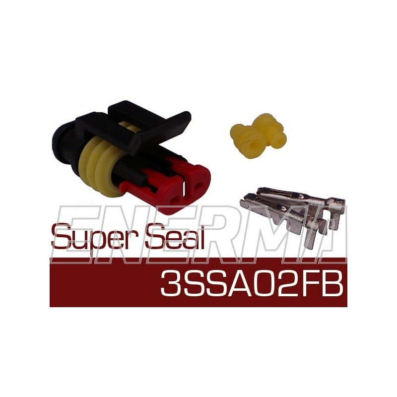 Super Seal 3SSA02FB  plug / bw