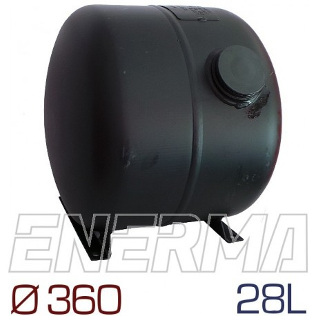 Cylindrical tank  28l / 360E GZWM