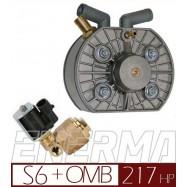 Reduktor KME Silver S6 z elektrozaworem
